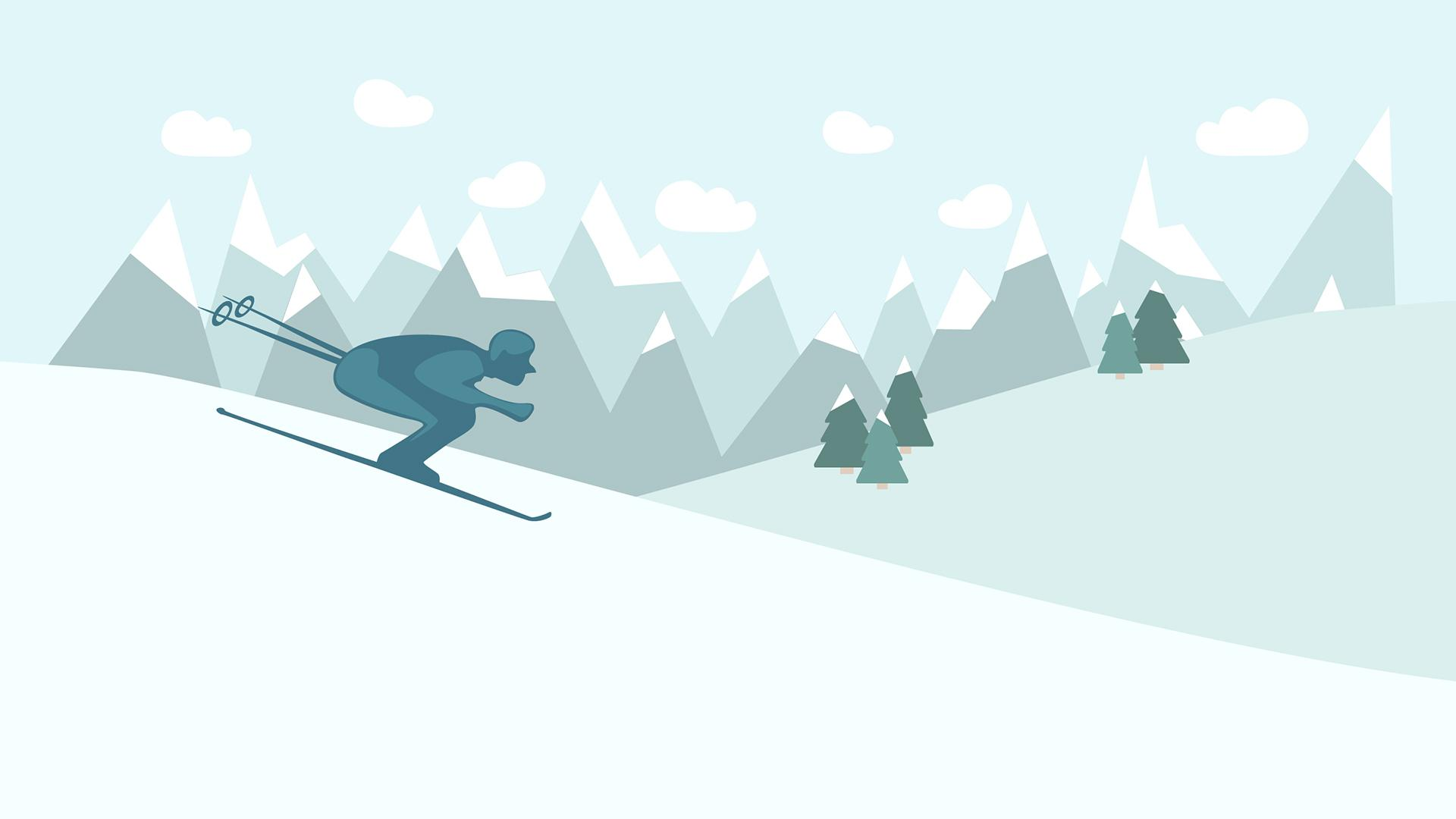 Let's go skiing! - image 1 - student project