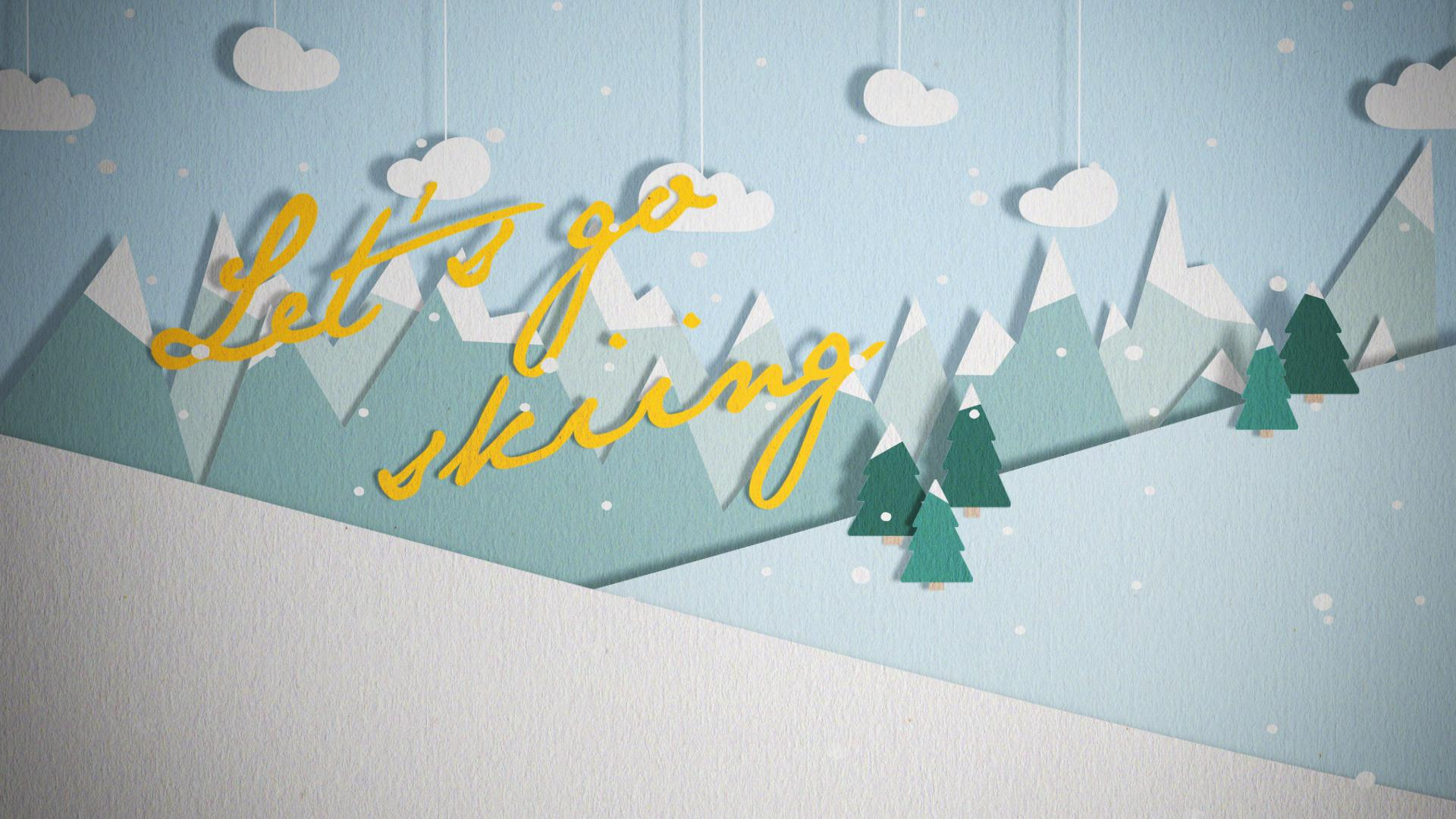 Let's go skiing! - image 3 - student project
