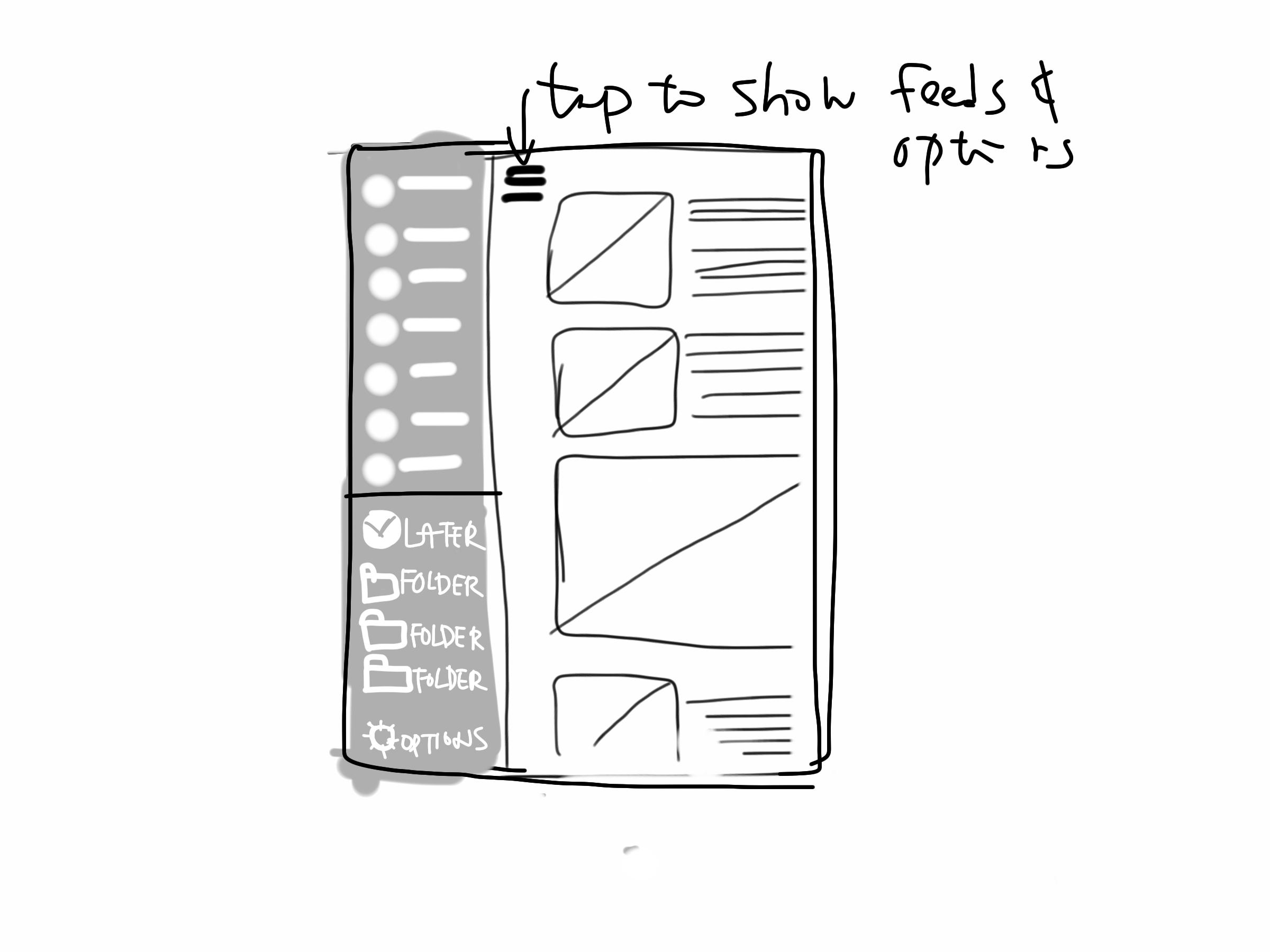 Zero Inbox RSS - image 4 - student project