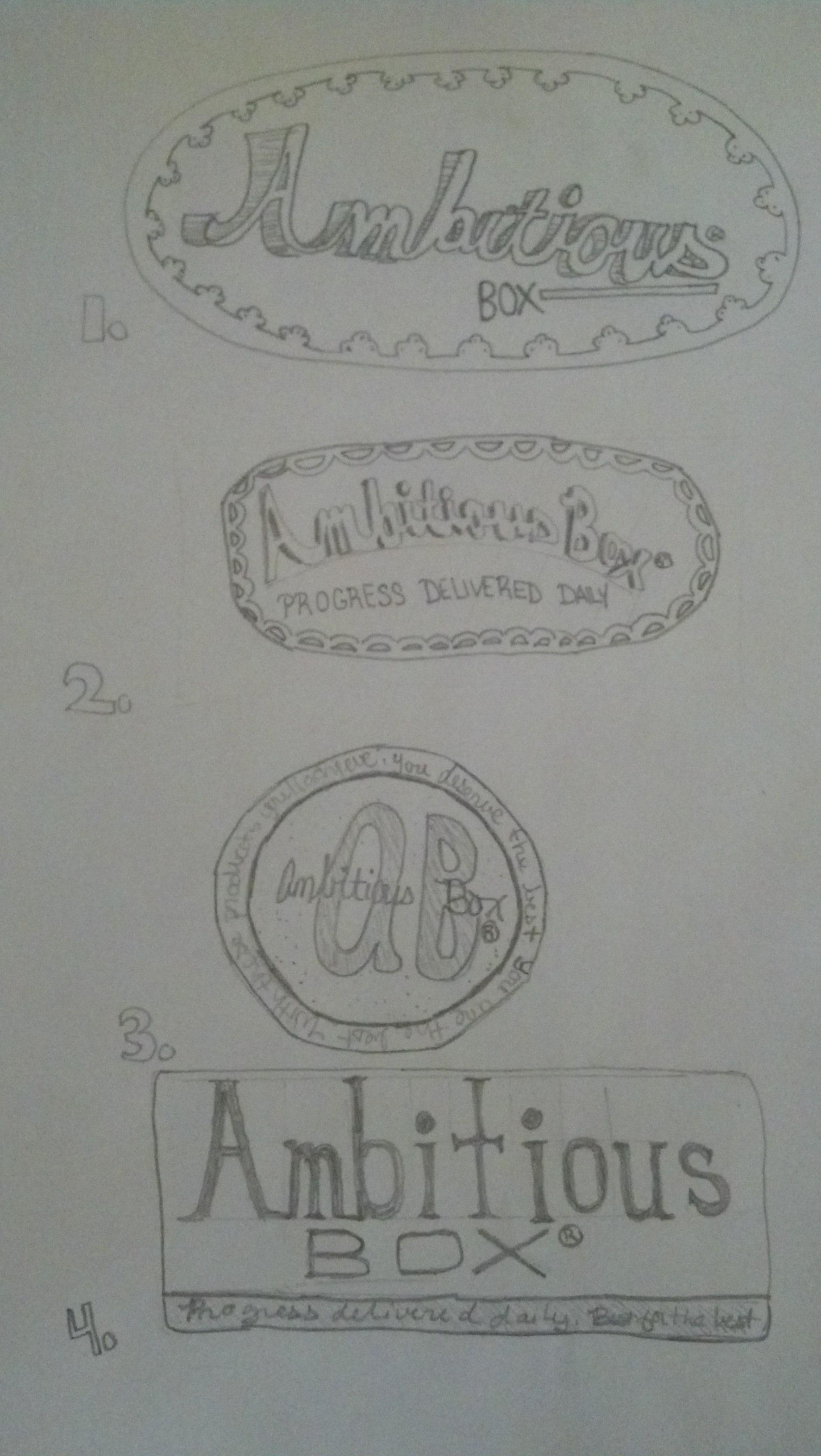Mood Board Girly Hand Drawn Label - image 2 - student project