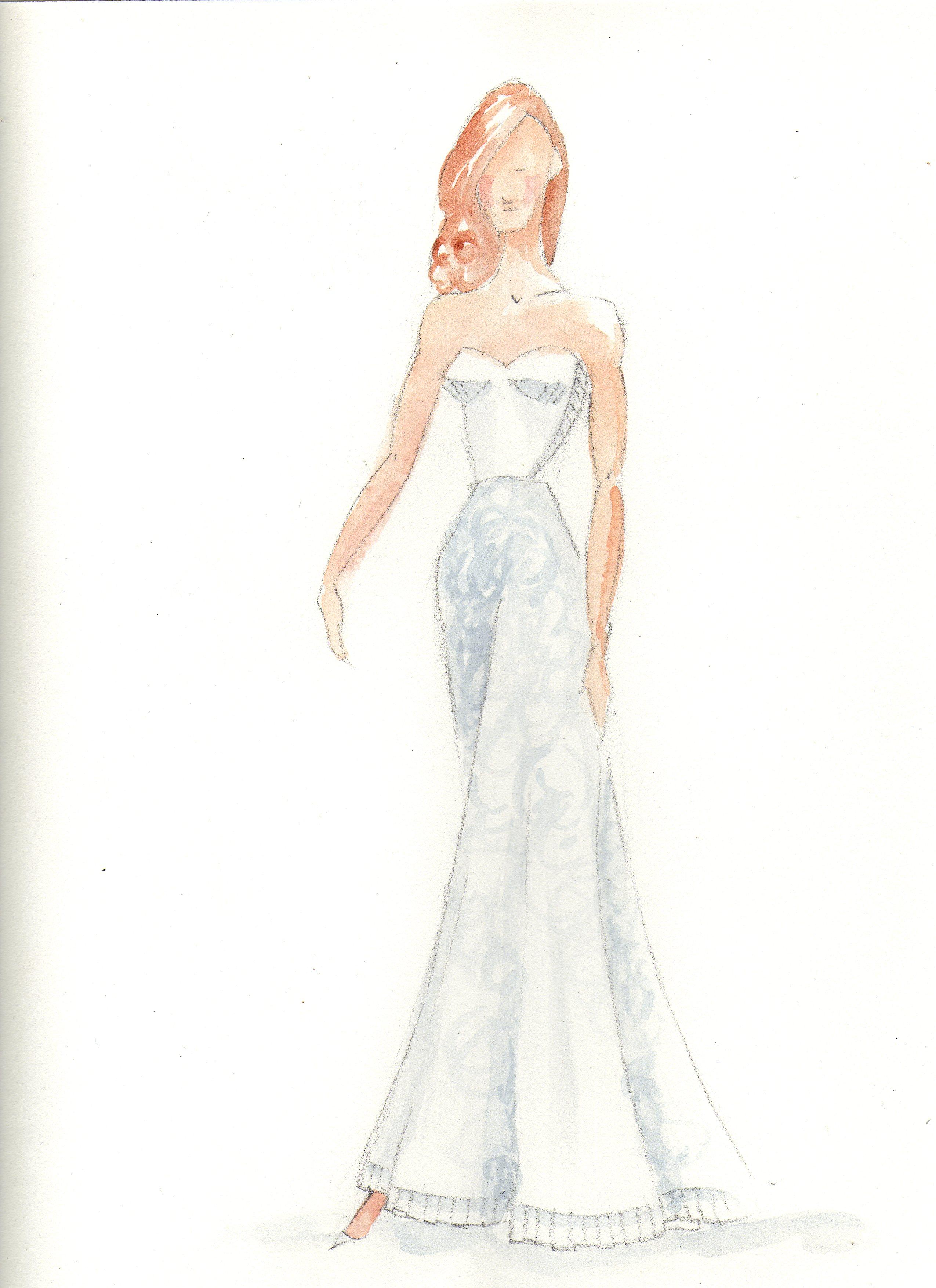 Fun with Watercolor Fashion Mashup - image 1 - student project