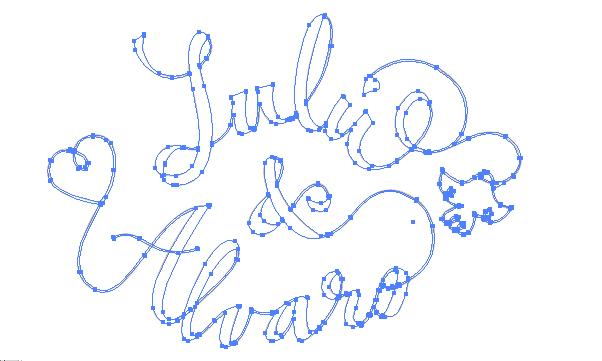 Lettering for wedding invitations. - image 3 - student project