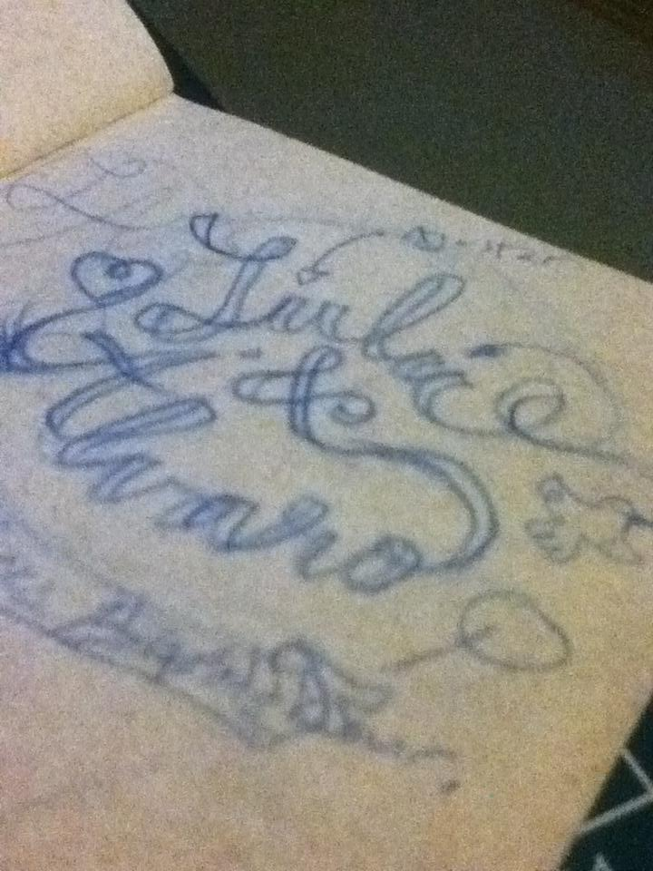 Lettering for wedding invitations. - image 1 - student project