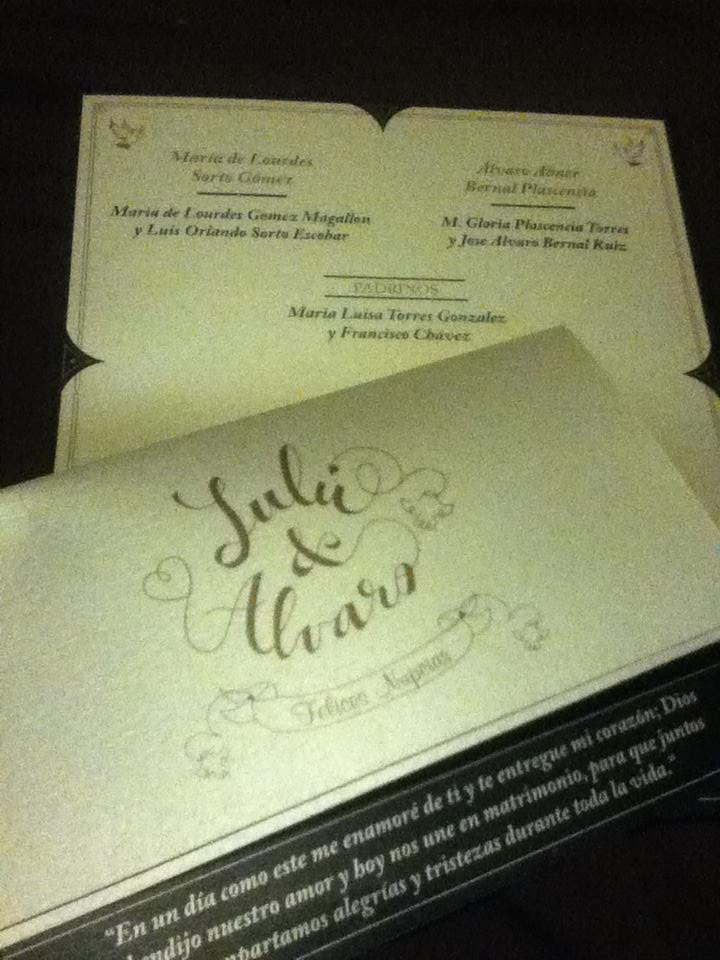 Lettering for wedding invitations. - image 6 - student project