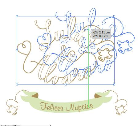 Lettering for wedding invitations. - image 4 - student project