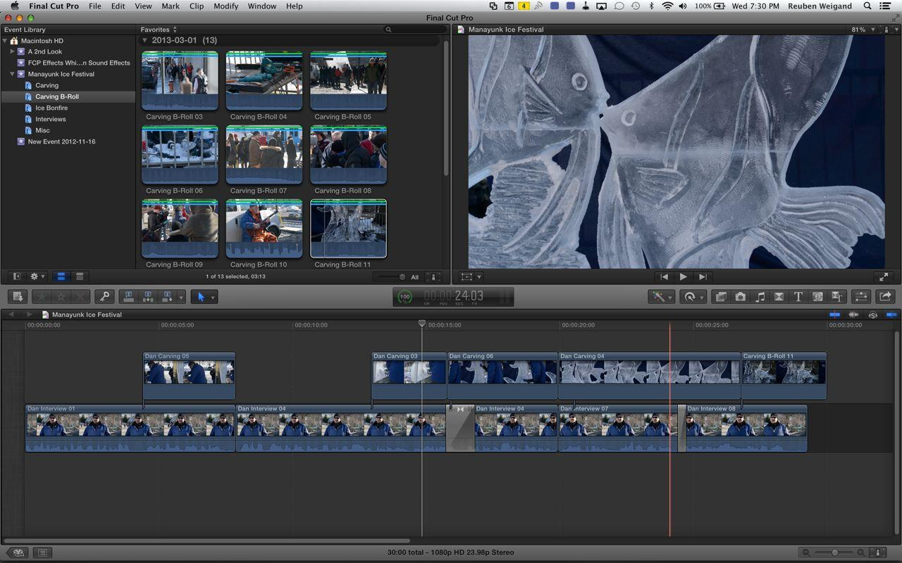 The Ice Festival - The Final Cut - image 1 - student project