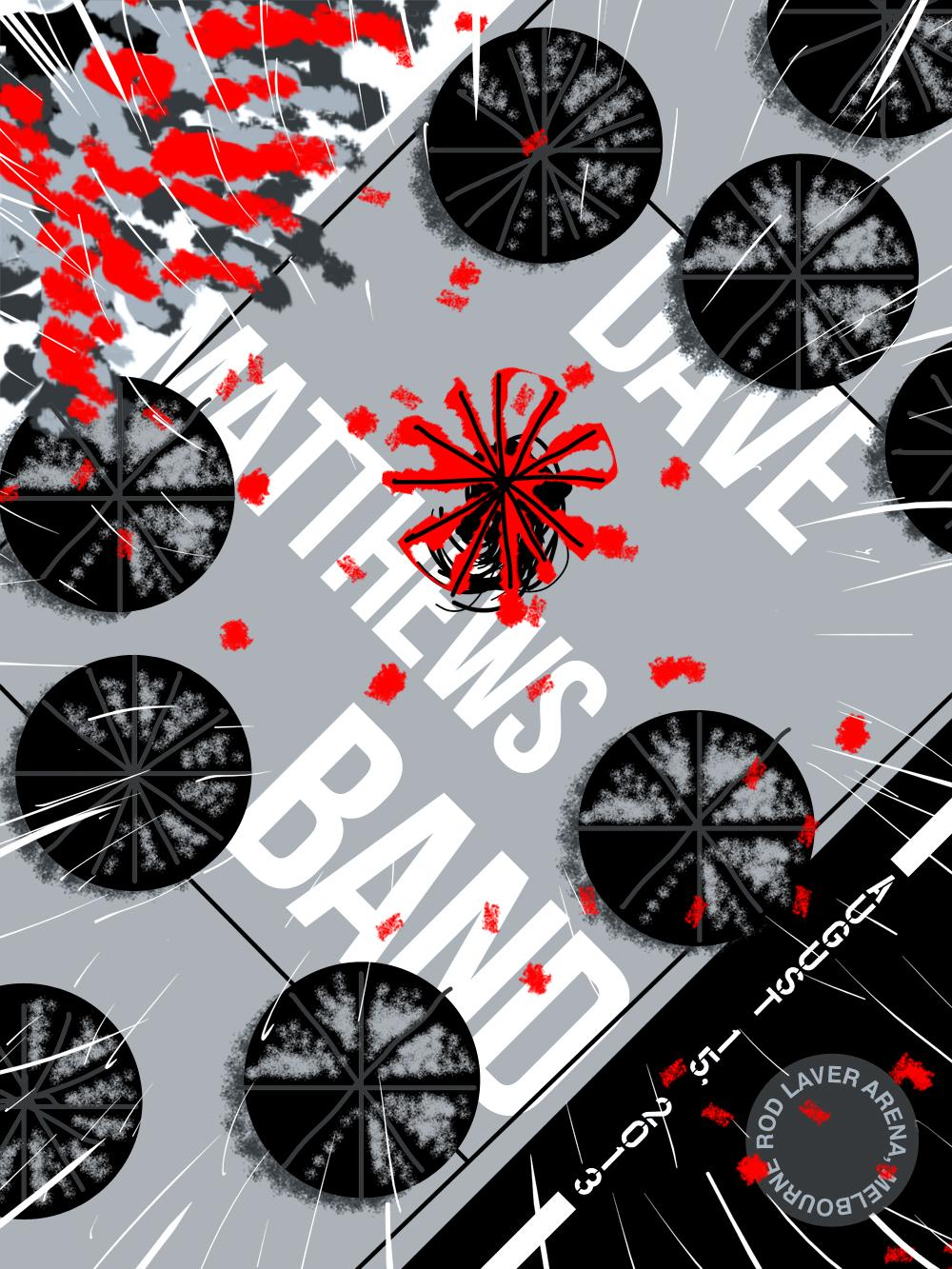 Dave Matthews Band - Poster - image 1 - student project