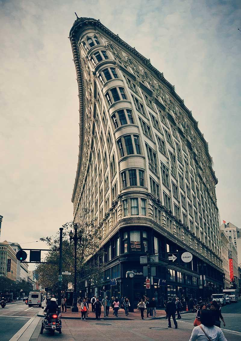 San Francisco's Flat Iron Building - image 1 - student project