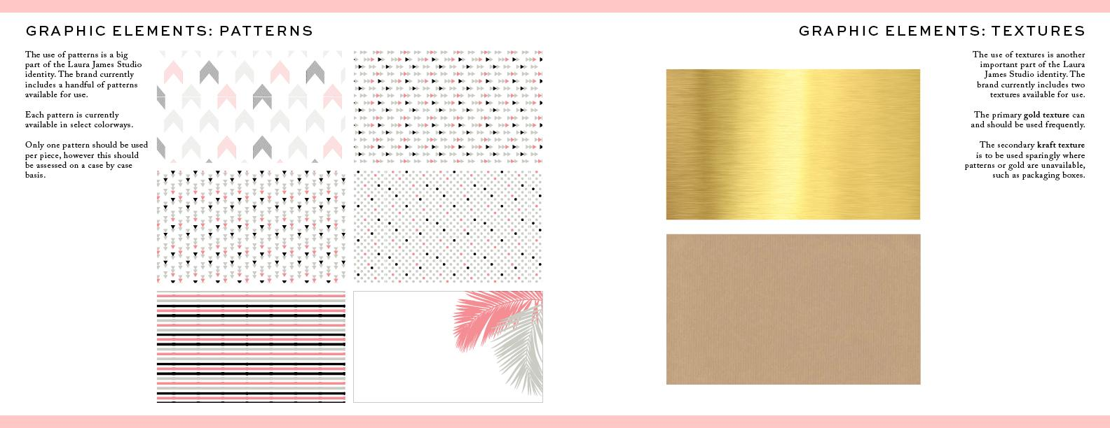 Laura James Studio Brand guide - image 10 - student project