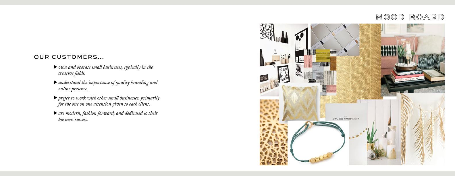 Laura James Studio Brand guide - image 3 - student project