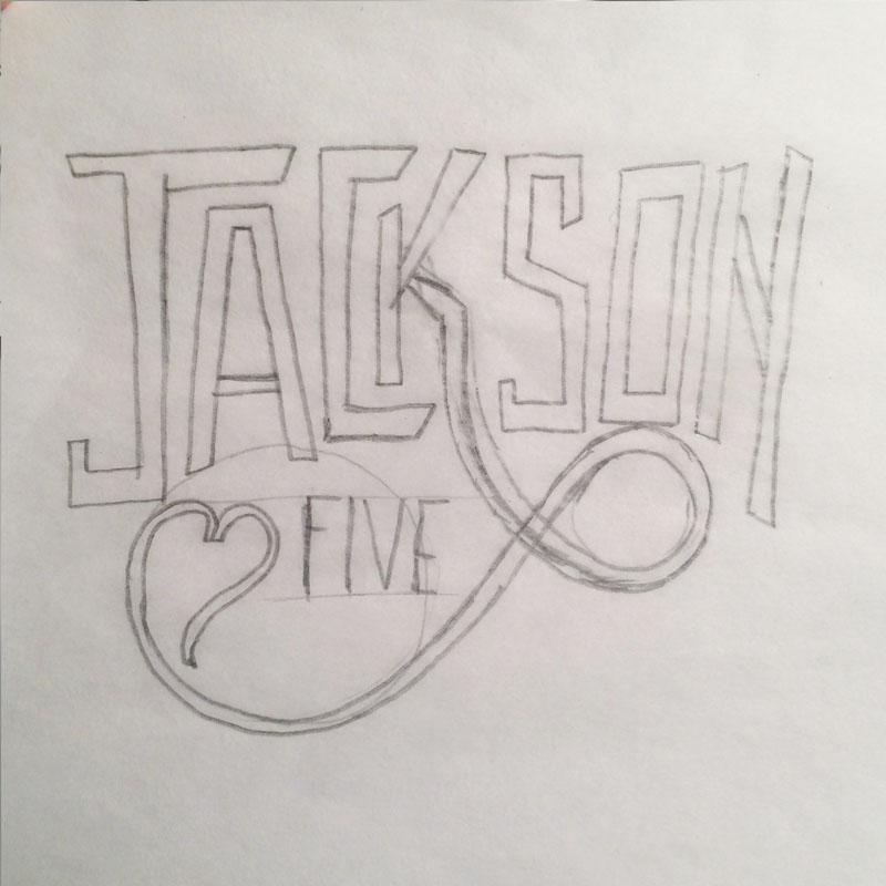 Jackson 5 / logo reinterpretation  & Tom Petty - Stand Your Ground    - image 5 - student project