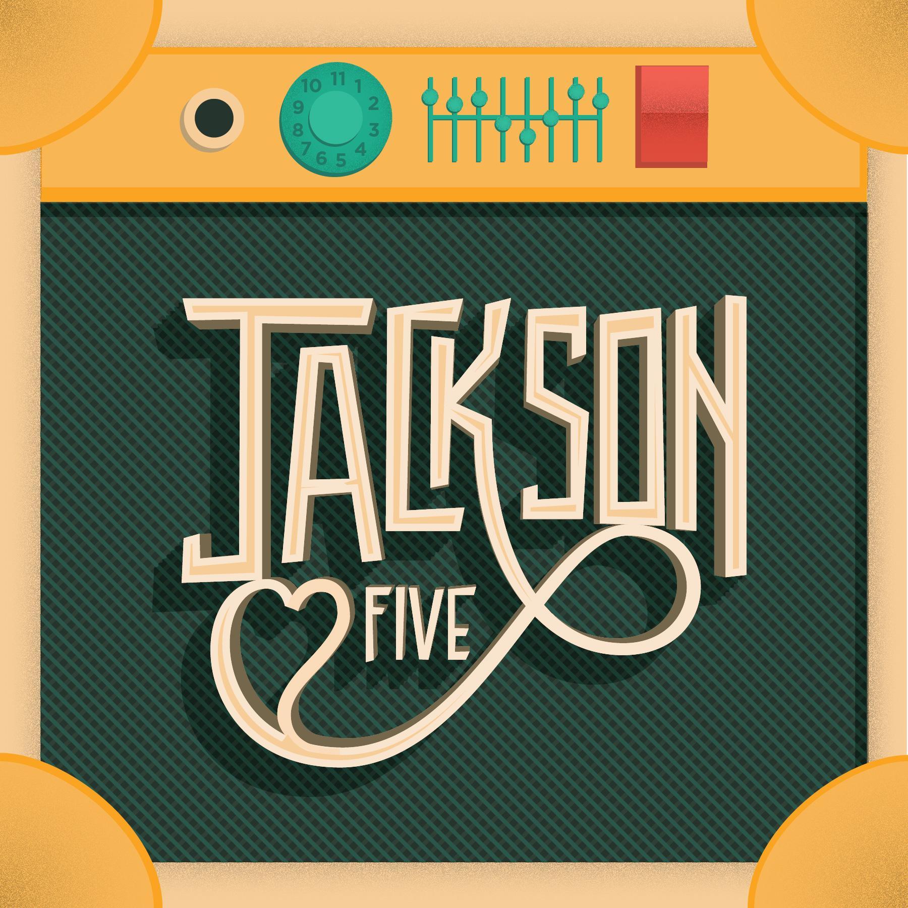 Jackson 5 / logo reinterpretation  & Tom Petty - Stand Your Ground    - image 1 - student project