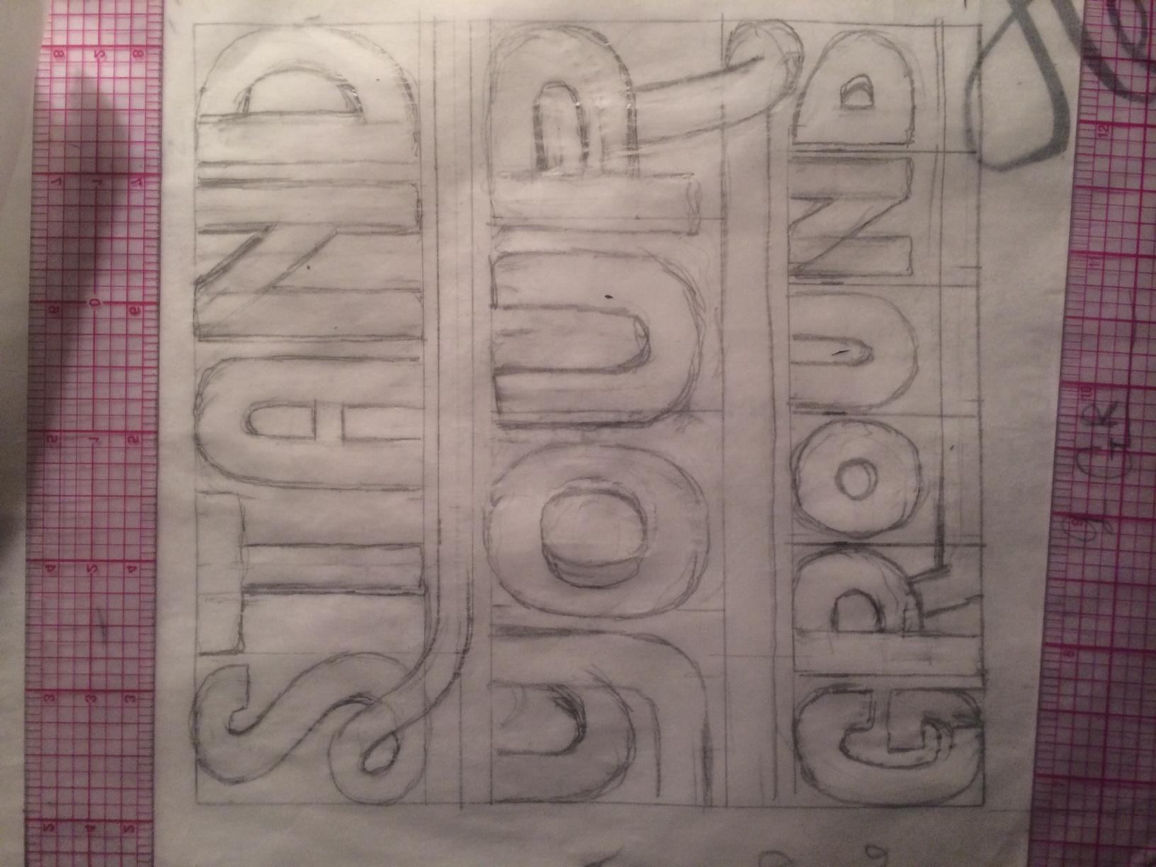 Jackson 5 / logo reinterpretation  & Tom Petty - Stand Your Ground    - image 9 - student project