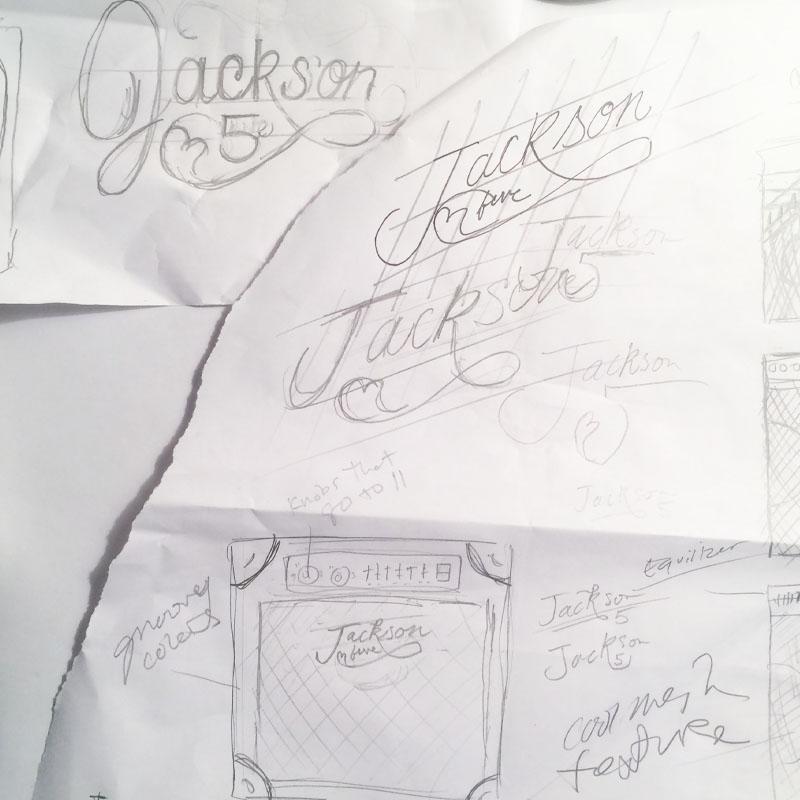 Jackson 5 / logo reinterpretation  & Tom Petty - Stand Your Ground    - image 4 - student project