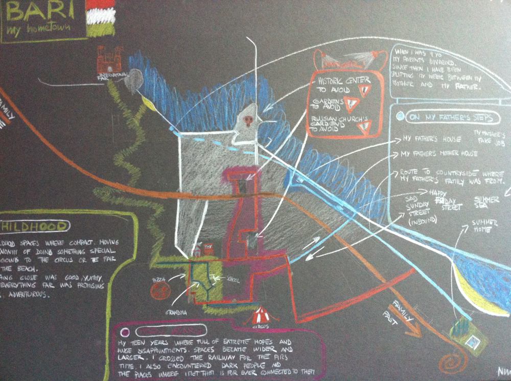 Memories /place/time/sense/ Mapped - image 2 - student project