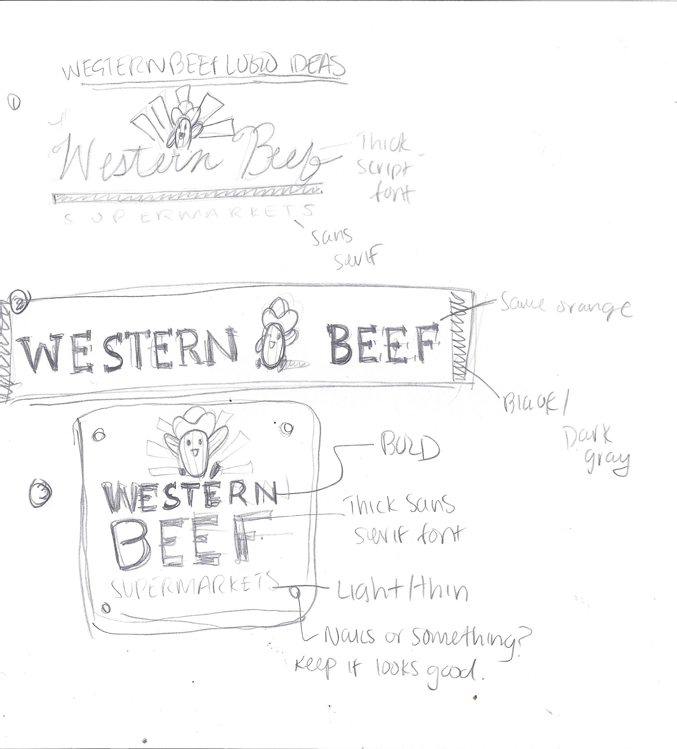 Western Beef Logo Redesign - image 1 - student project
