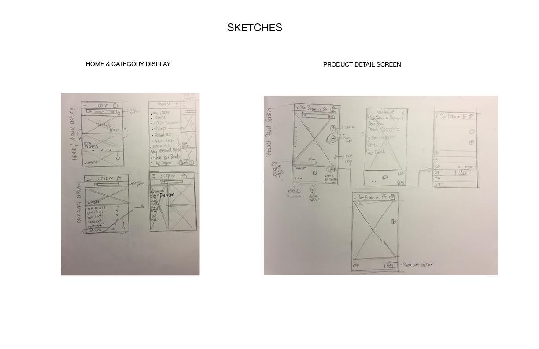 J.Crew Mobile App Design - image 5 - student project