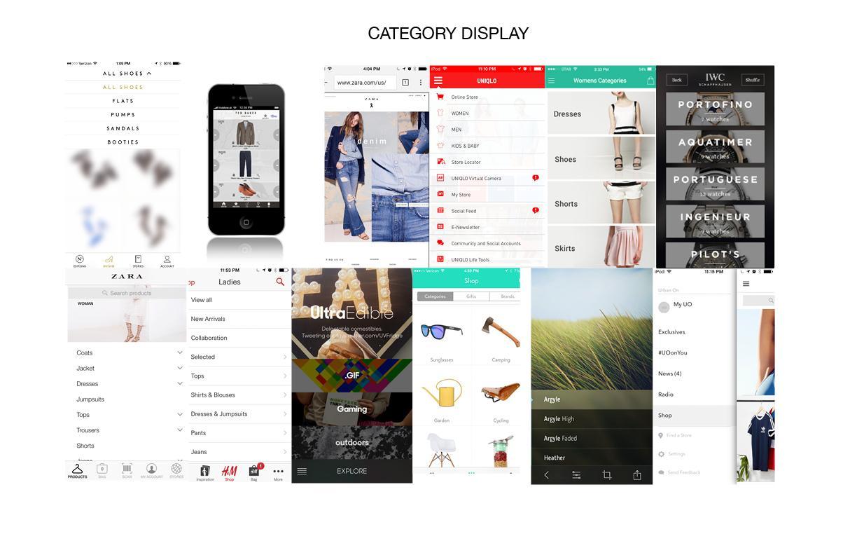 J.Crew Mobile App Design - image 3 - student project