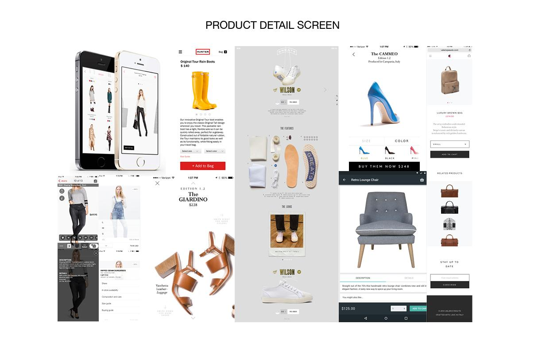 J.Crew Mobile App Design - image 4 - student project