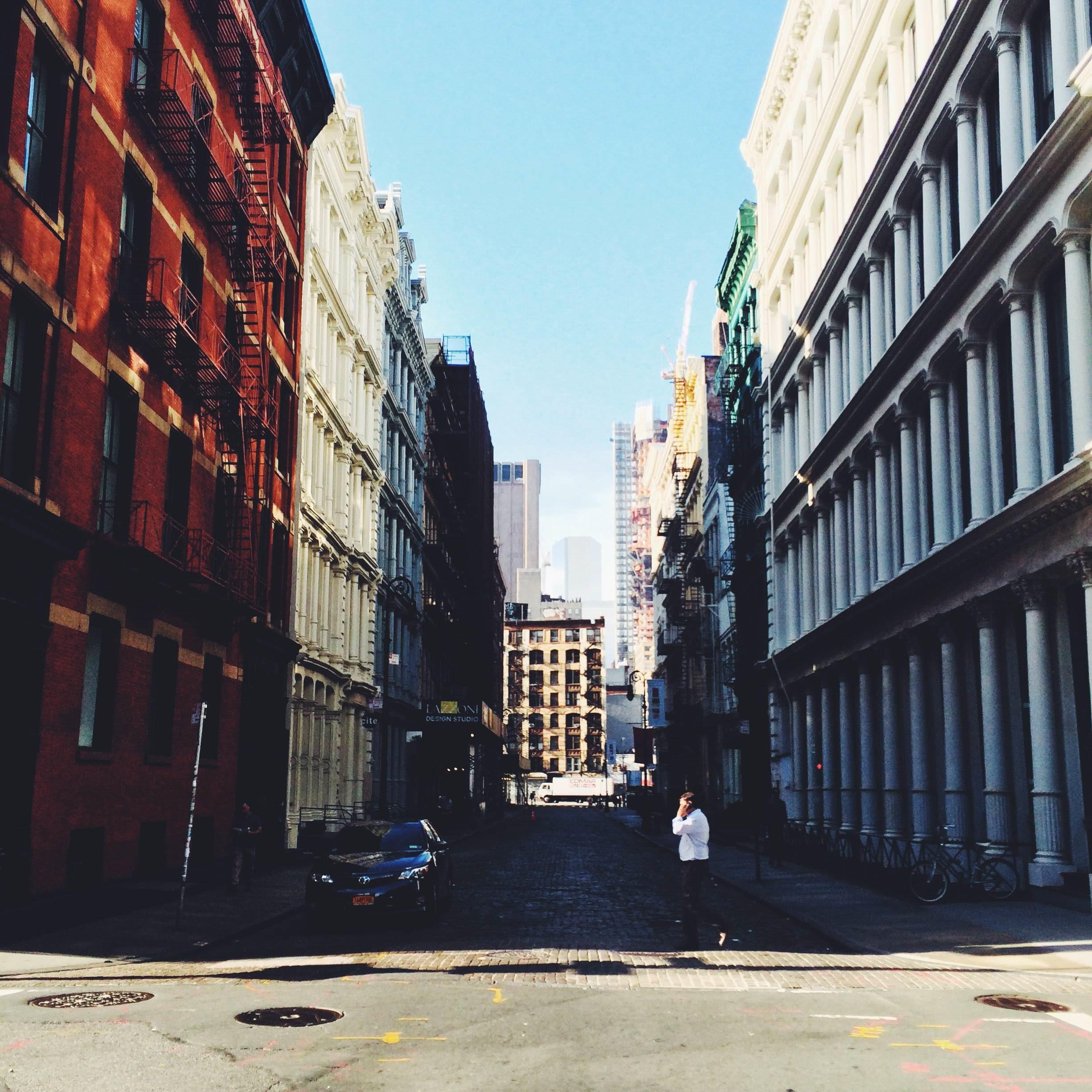 SoHo, New York in September - image 3 - student project