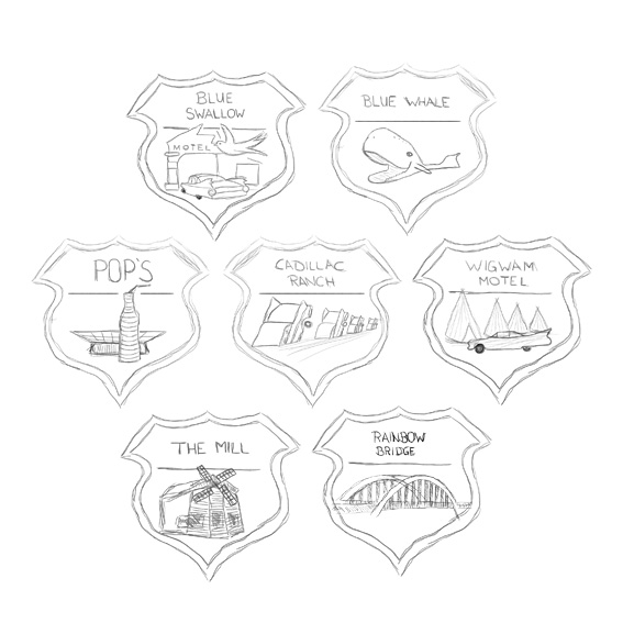 Badges for Travel Journal / Blog - image 2 - student project