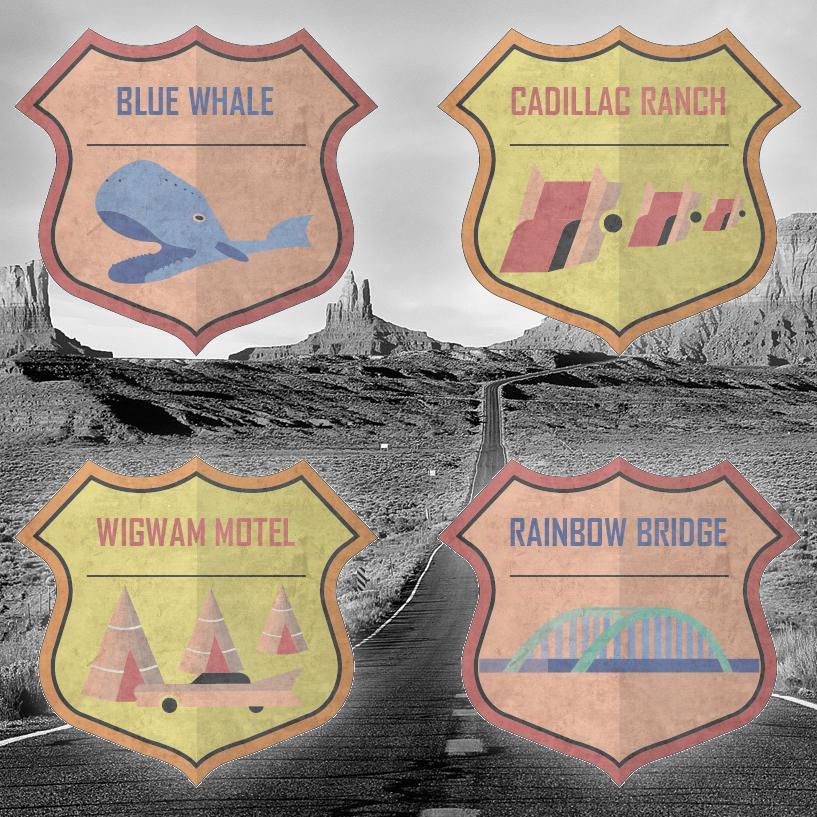 Badges for Travel Journal / Blog - image 14 - student project