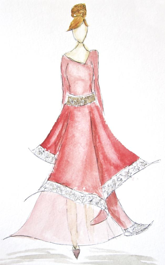 EMBELLISHED WATERCOLORS -- updated -- romanticism turned modern - image 8 - student project
