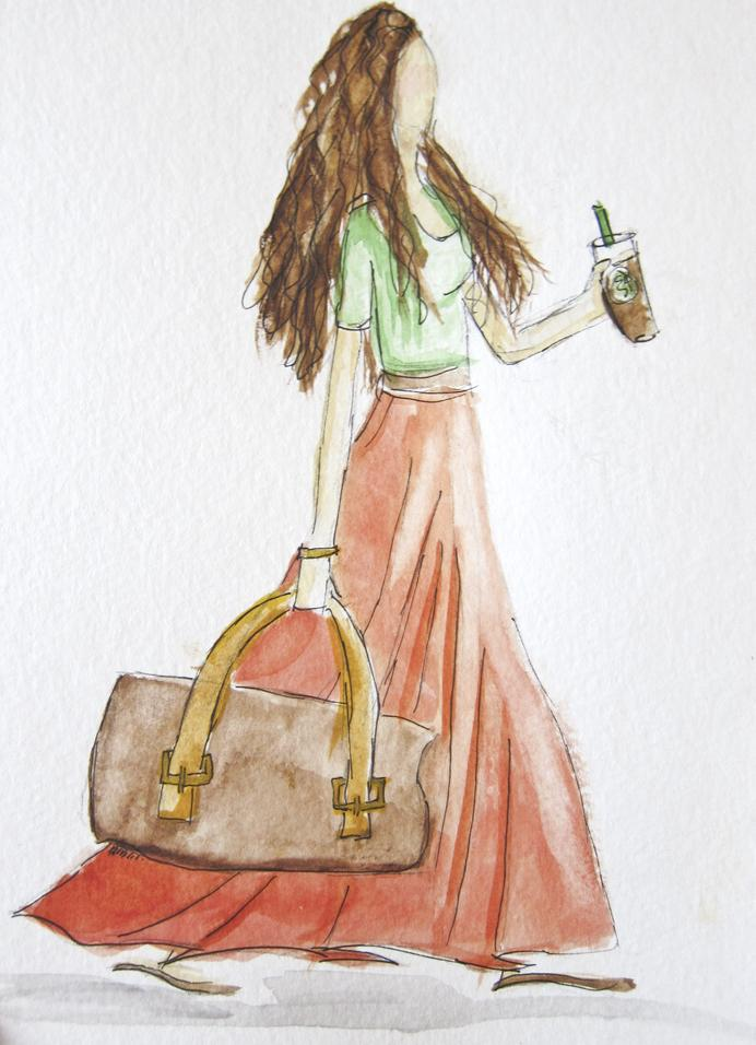 EMBELLISHED WATERCOLORS -- updated -- romanticism turned modern - image 6 - student project