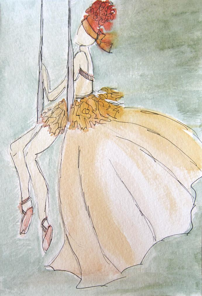 EMBELLISHED WATERCOLORS -- updated -- romanticism turned modern - image 7 - student project