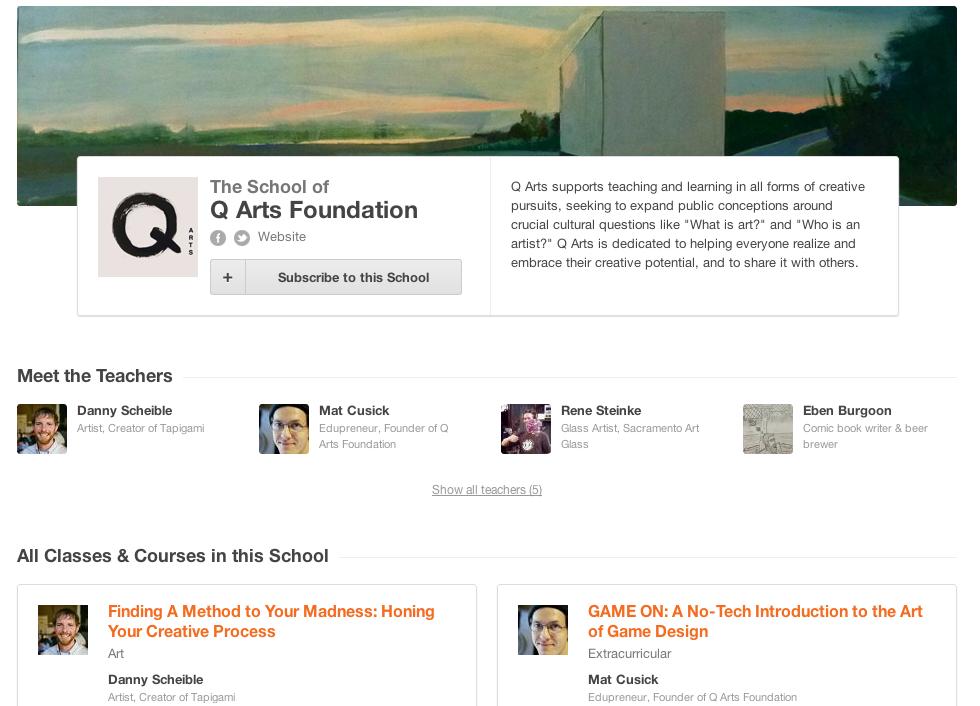 Q Arts Foundation Press Kit - image 2 - student project