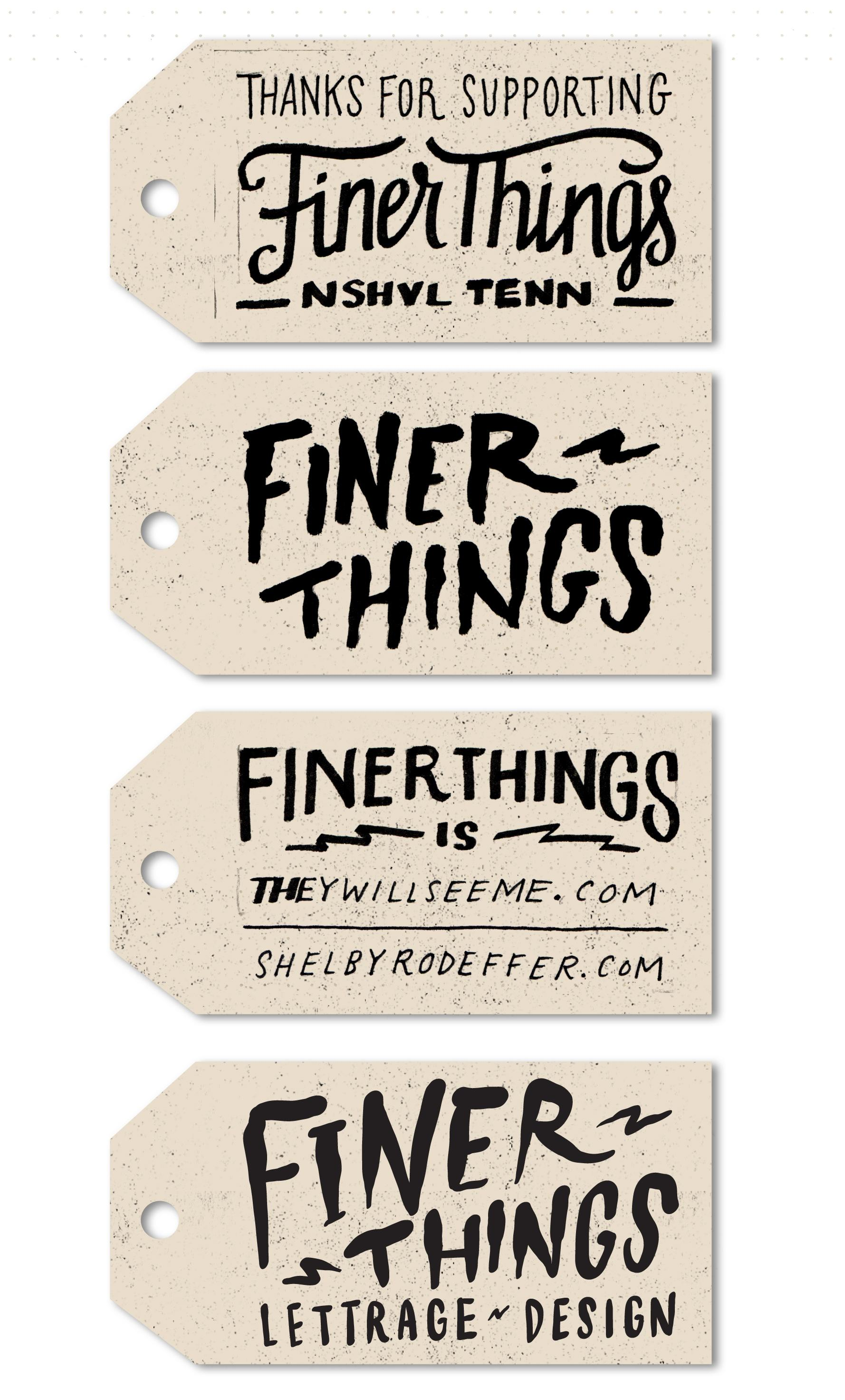 Finer Things - Labels and Tags - image 13 - student project