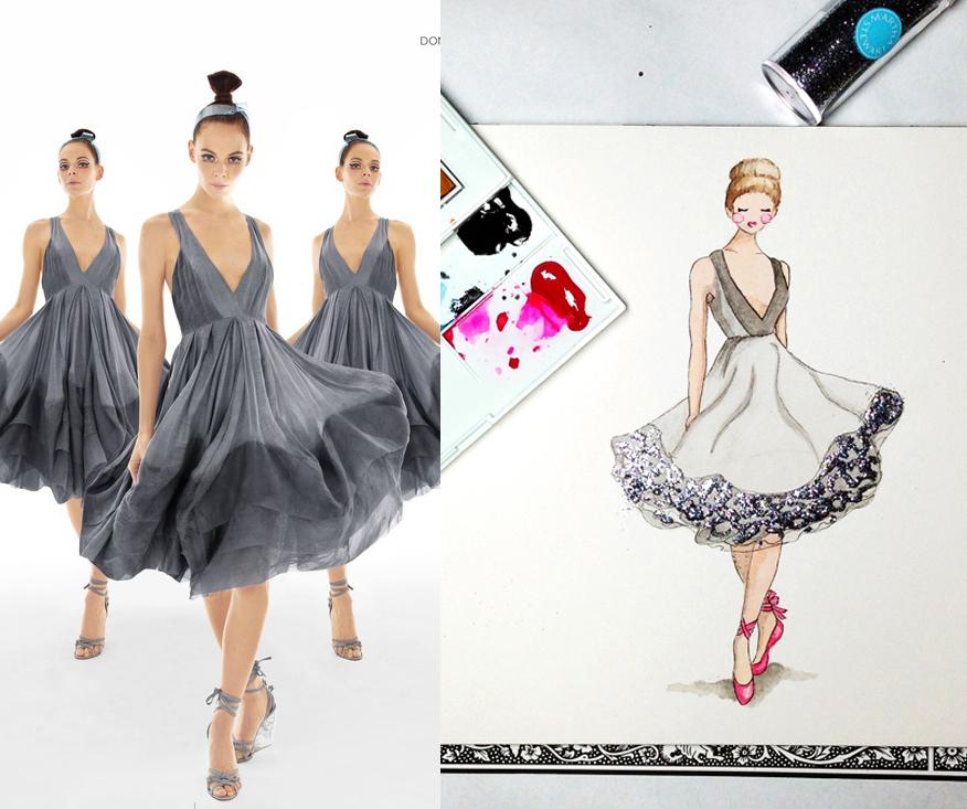 Updated: Embellished Ballerina Beauty - image 1 - student project