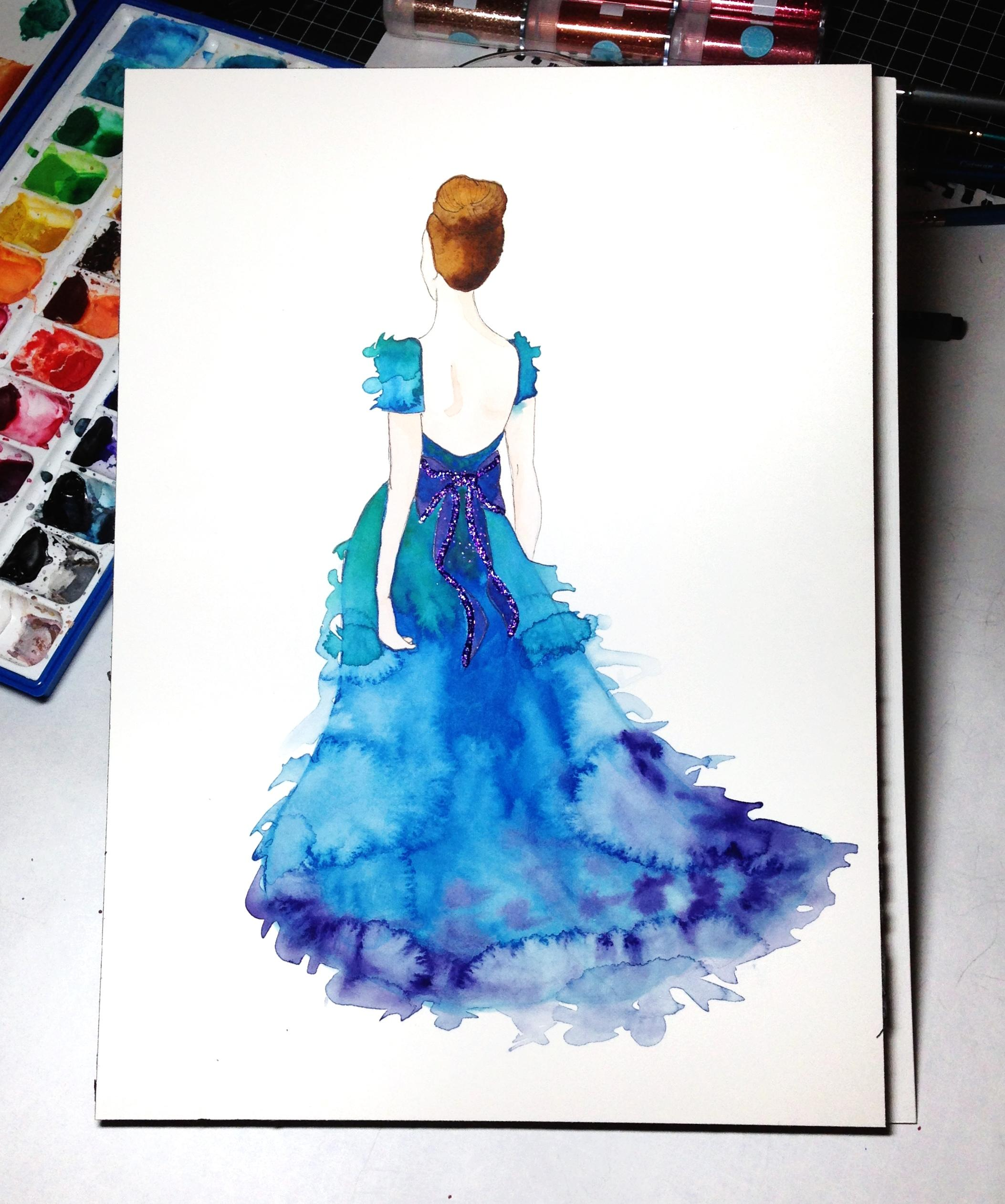 Updated: Embellished Ballerina Beauty - image 4 - student project