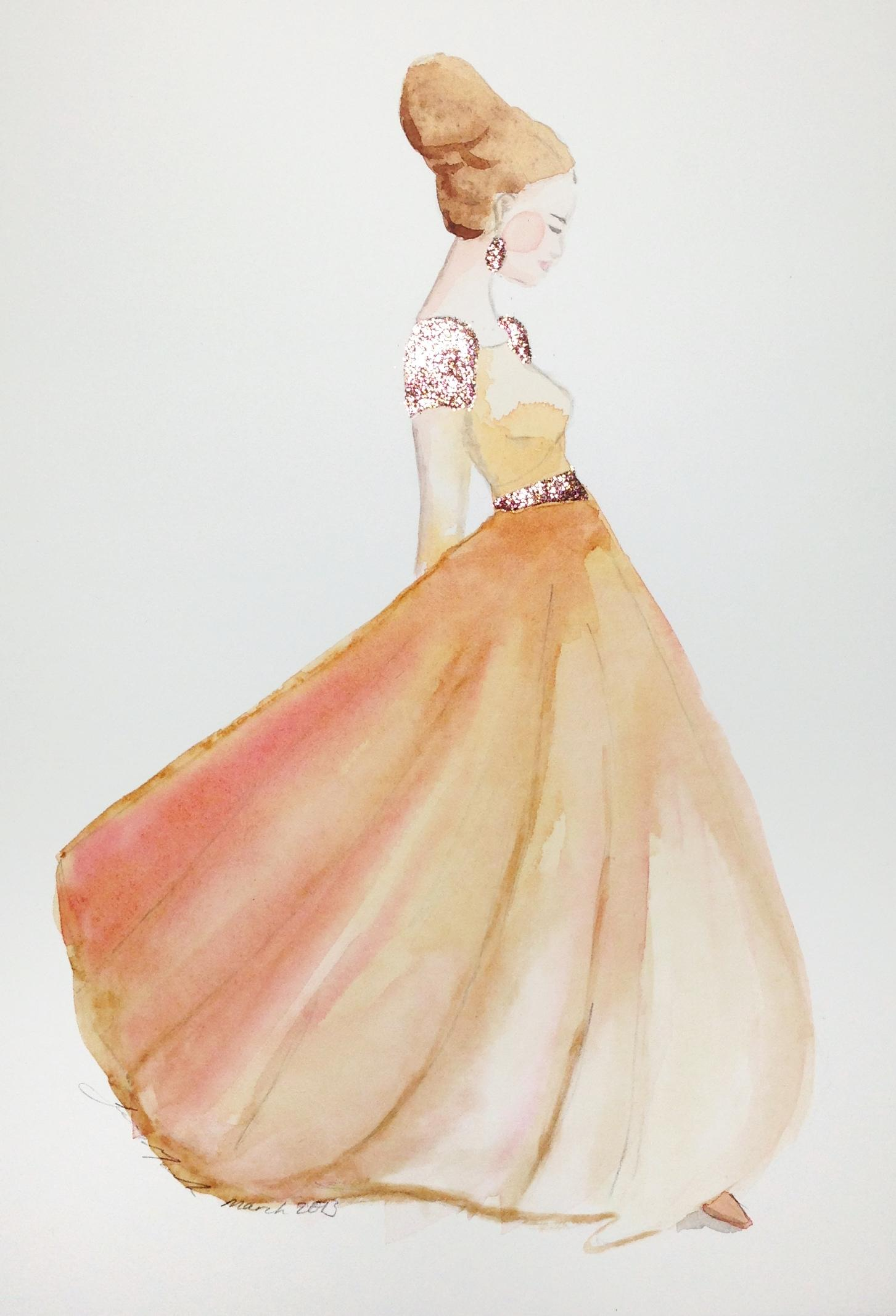 Updated: Embellished Ballerina Beauty - image 3 - student project