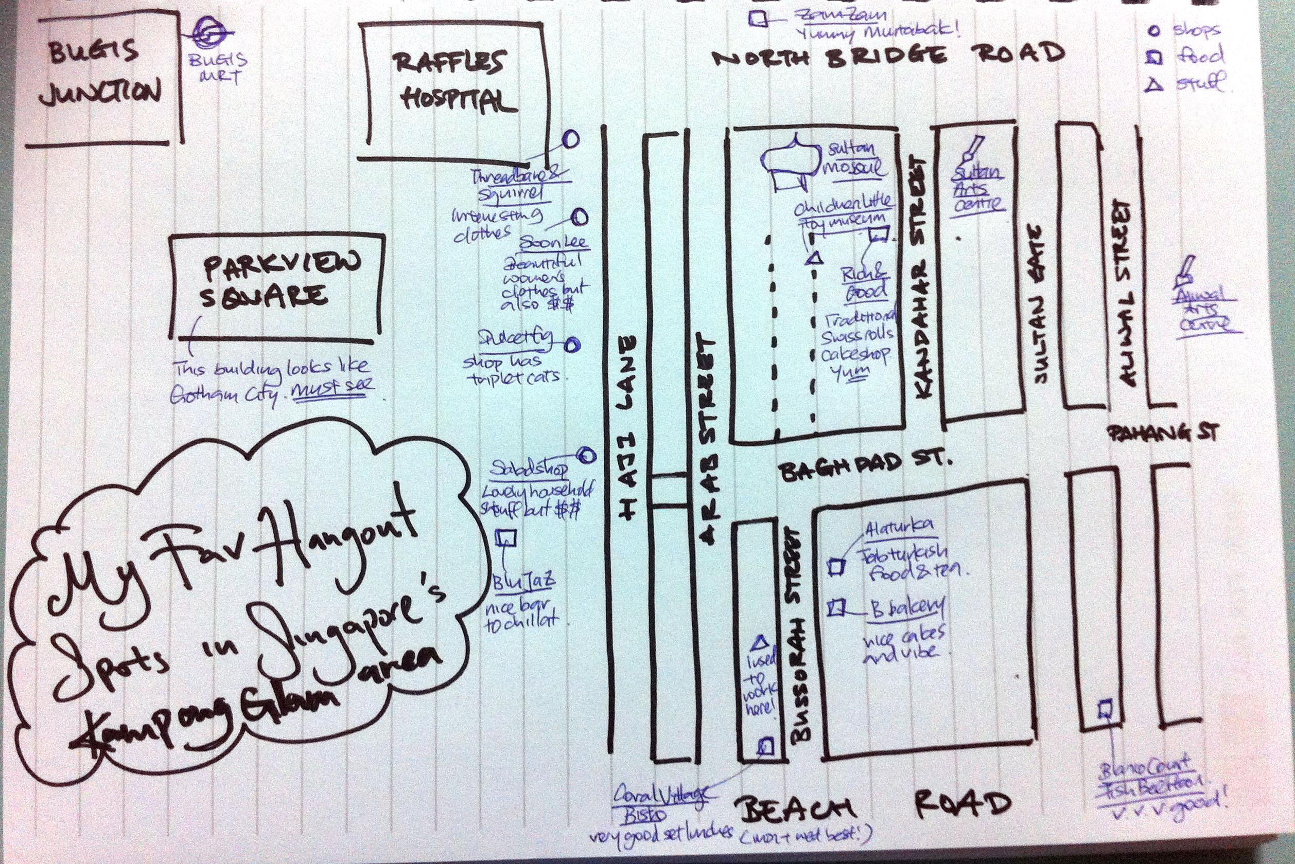 Jac's Mishap Map - image 5 - student project