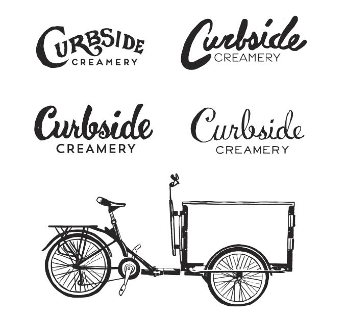 Curbside Creamery - image 6 - student project