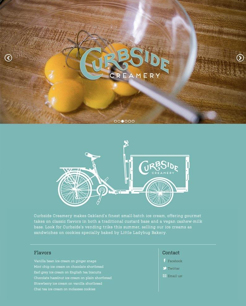 Curbside Creamery - image 3 - student project