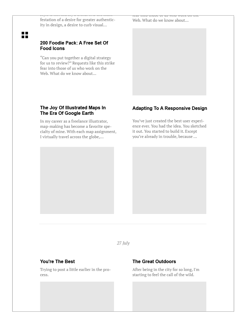 """RSS reader """"Fresh Magazine"""" - image 11 - student project"""
