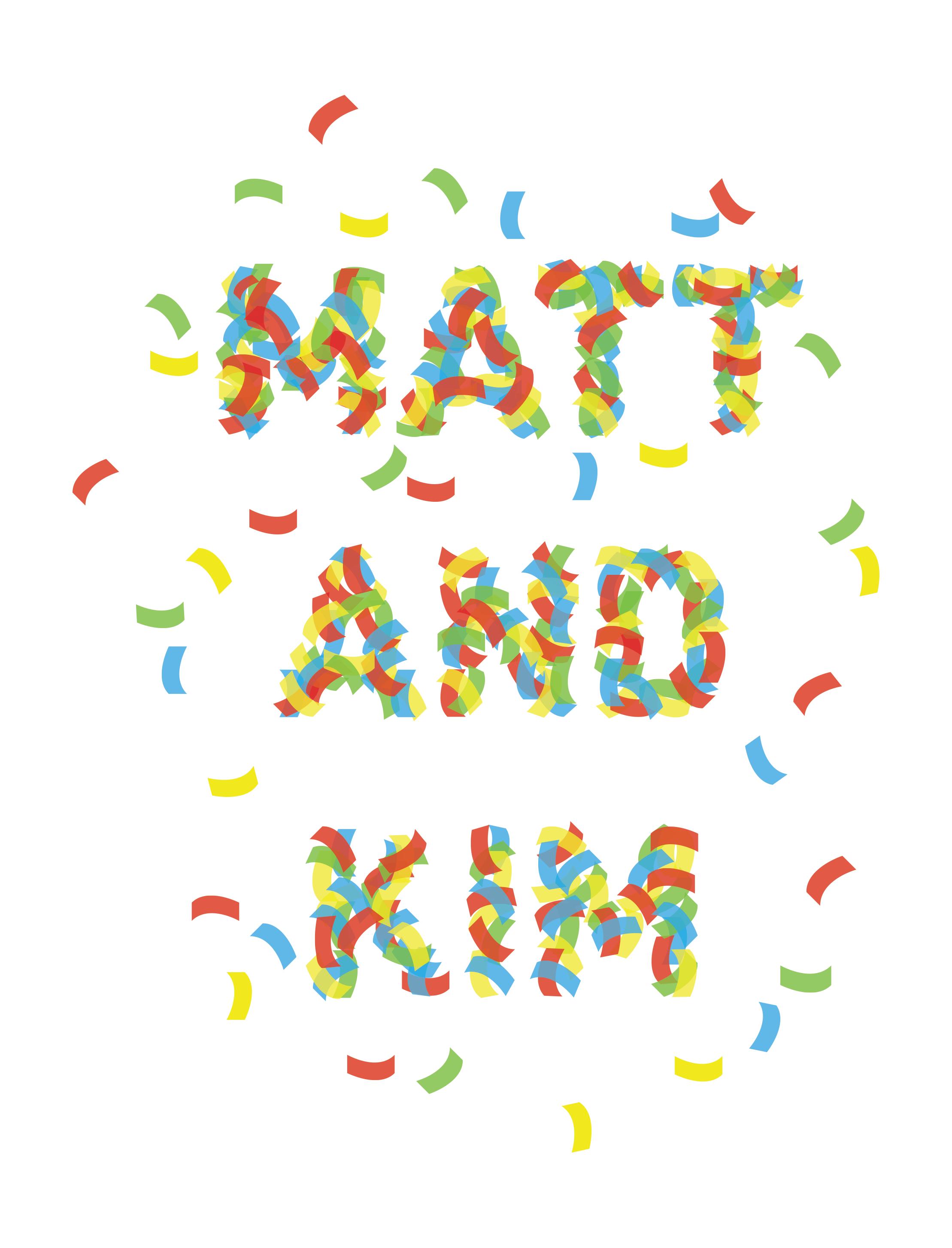 Matt & Kim - image 4 - student project
