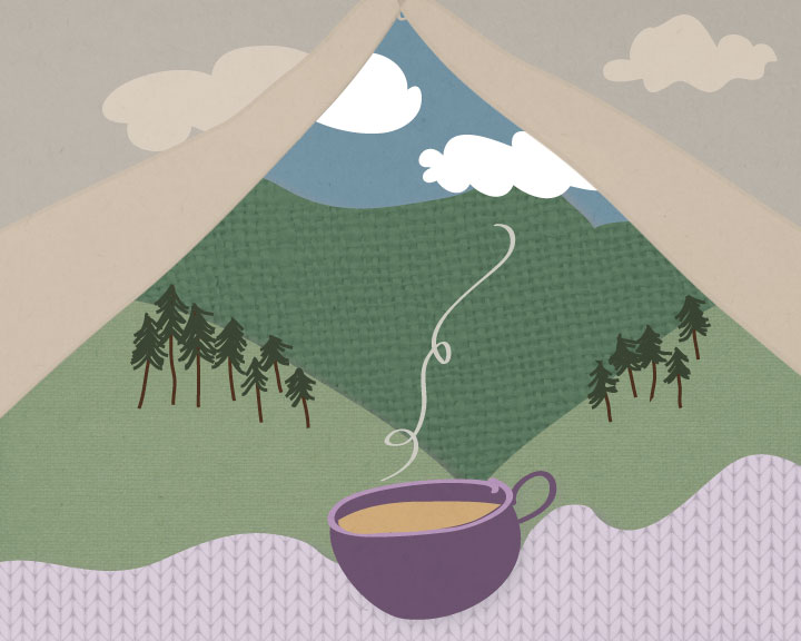 Quiet // Camping + Coffee - image 1 - student project