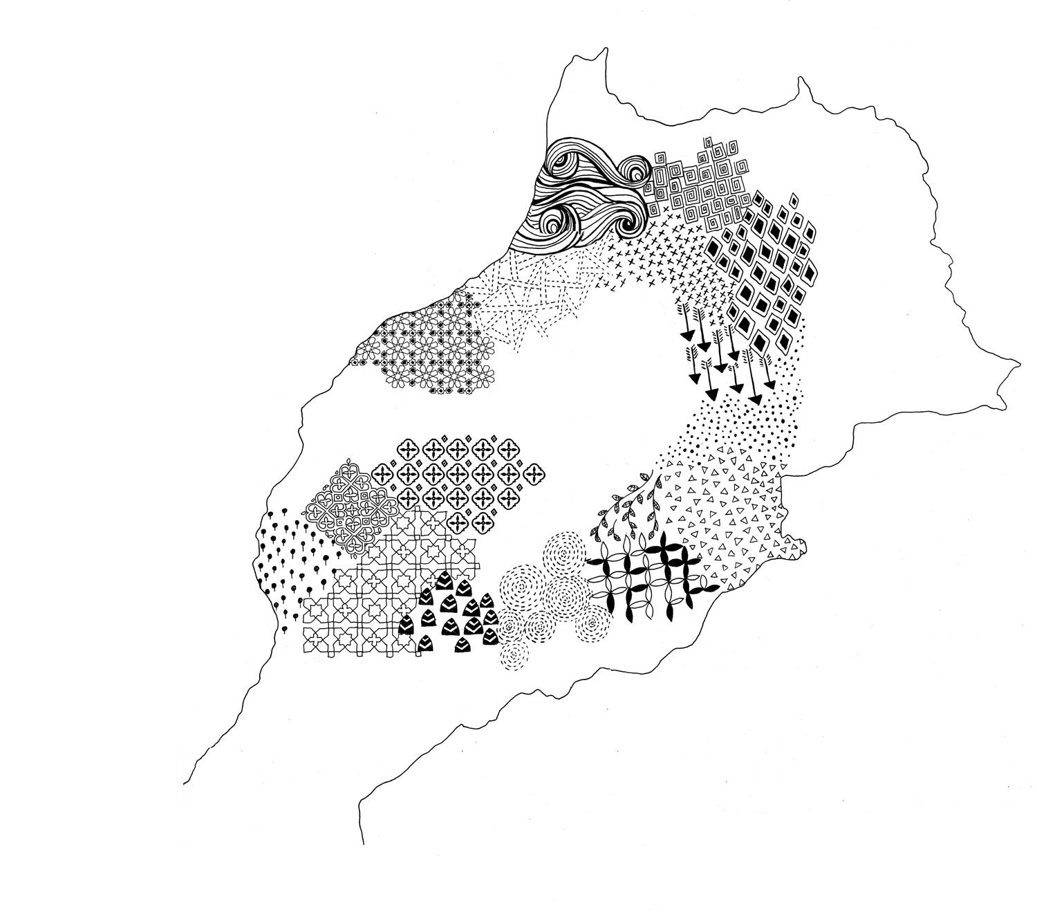 Berber Whiskey Travels: Morocco through patterns - image 2 - student project