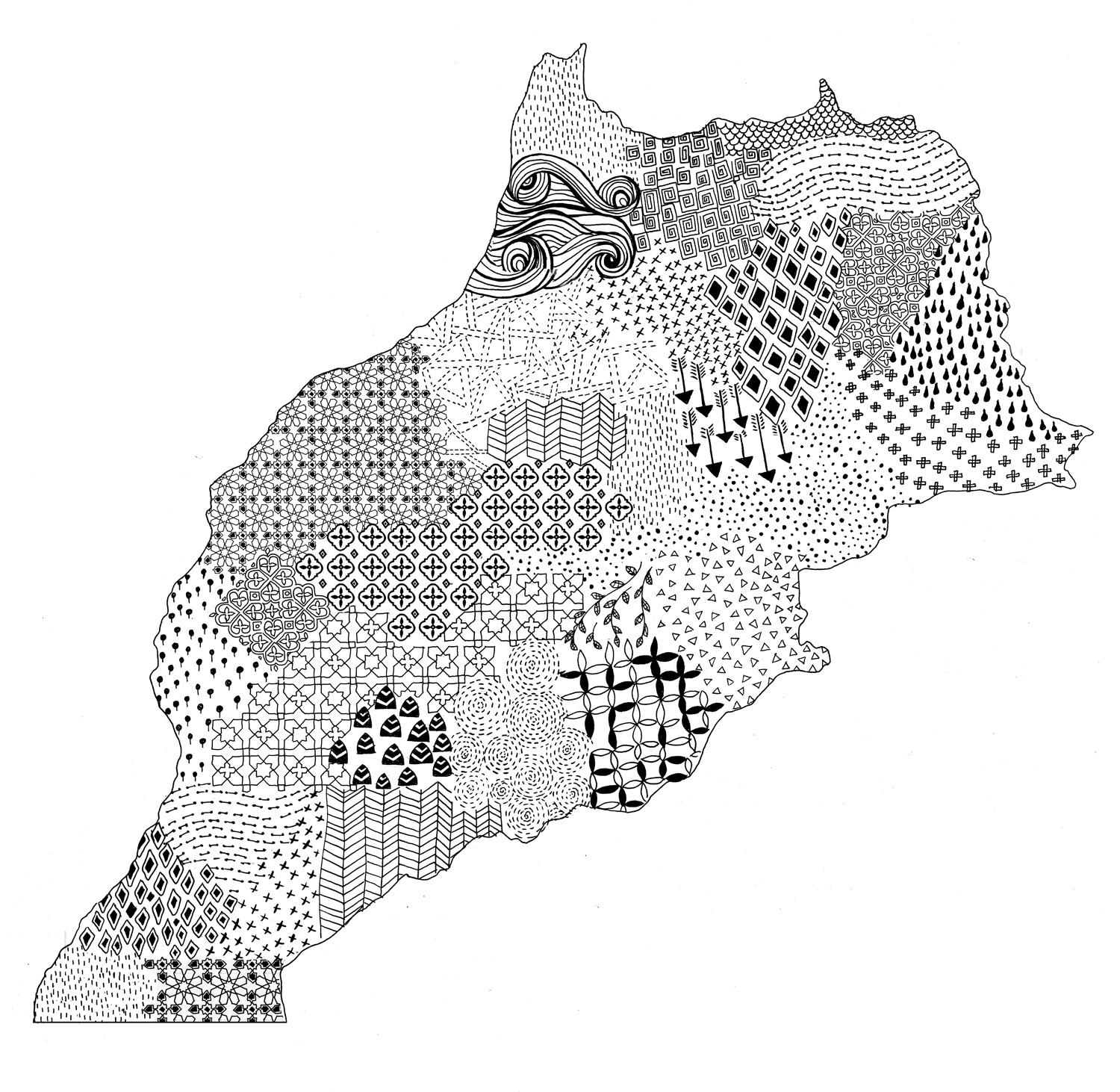 Berber Whiskey Travels: Morocco through patterns - image 5 - student project