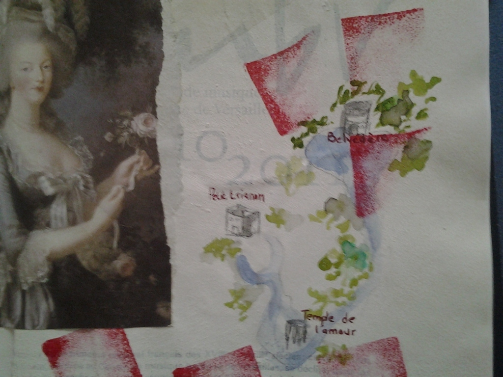 Versailles, now and then - image 5 - student project