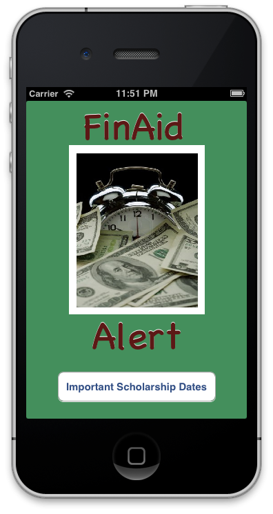 FinAid Alert: The College Affordability Alarm Clock - image 1 - student project