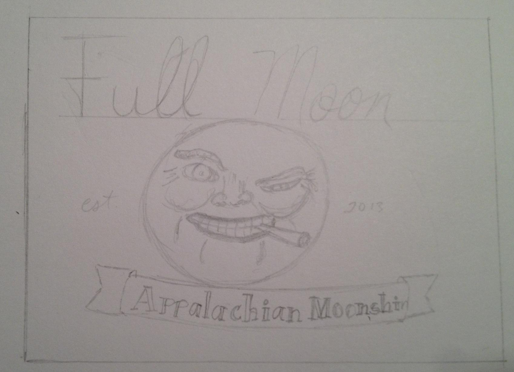 Full Moon Appalachian Moonshine - image 6 - student project