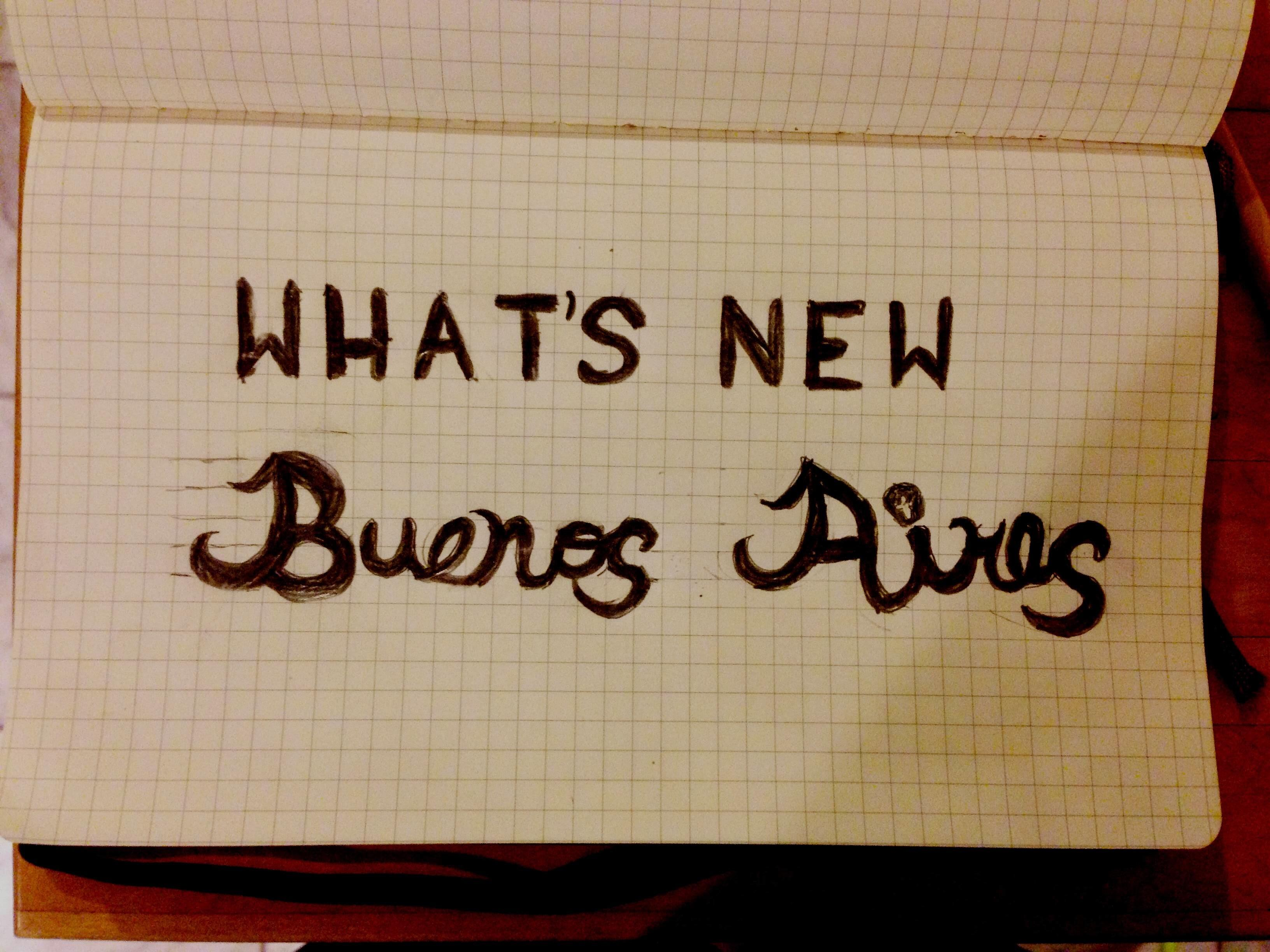 What's New Buenos Aires - image 1 - student project