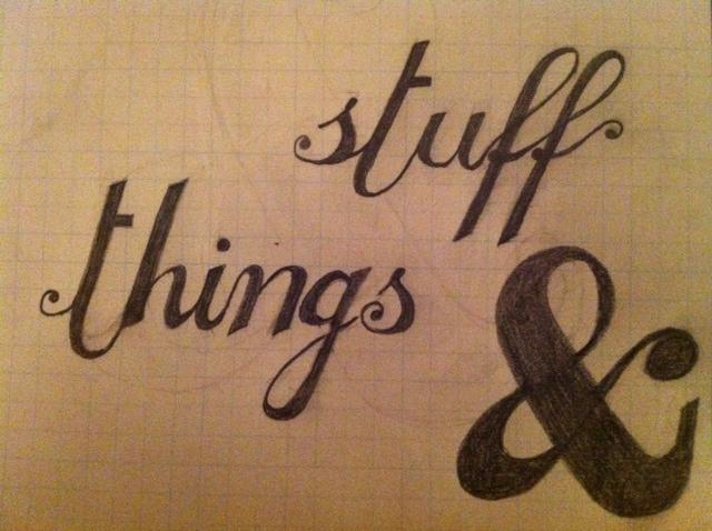 Stuff & Things - image 1 - student project