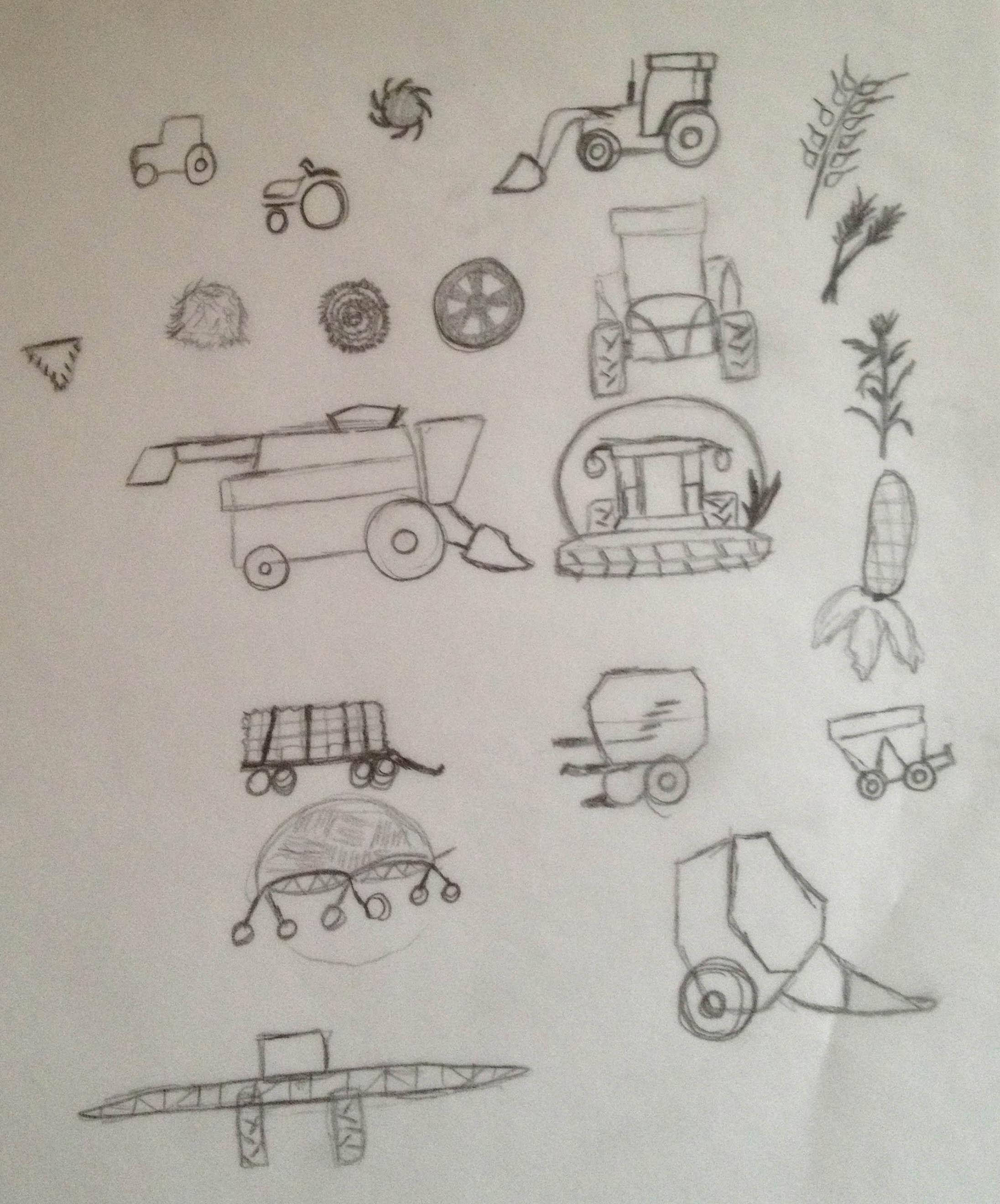 Agricultural Icons - image 2 - student project