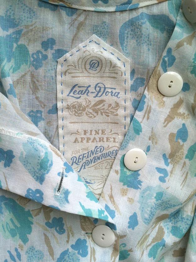 Leah-Dora Clothiers - image 7 - student project