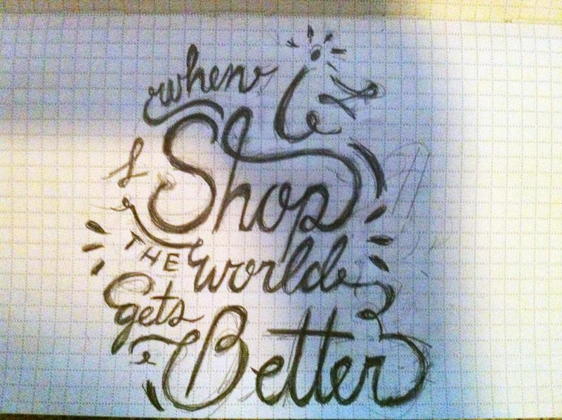 """""""When I shop, the world gets better"""" - image 2 - student project"""